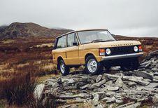 Rétromobile 2017 : des Range Rover « Série 1 » d'exception