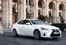 Lexus IS 300h subtiel vernieuwd