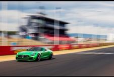Mercedes-AMG GT R: ondersteboven