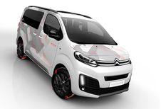 Citroën SpaceTourer 4x4 Ë Concept: start van de 'Ë'-lijn
