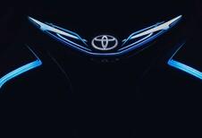 Toyota i-Tril: hangende elektrische auto