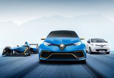 Formule E-tech geeft Renault Zoe E-Sport Concept vleugels