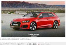 Audi RS5 : et pourquoi pas en Shooting Brake ?