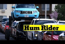 Hum Rider brengt je over de files heen