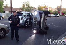 Uber zet zijn zelfstandige auto's aan de kant na een ongeval