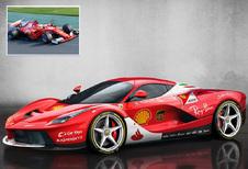 Supercars in F1-oorlogskleuren - van Scuderia LaFerrari tot Alpine Toro Rosso