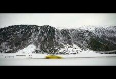 Lamborghini teste l'EGO en jouant dans la neige