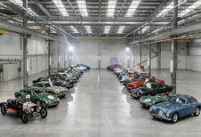 Familiereünie in de nieuwe fabriek van Aston Martin