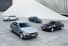 Audi A6 3.0 TDI, BMW 530d, Jaguar XF 3.0D & Mercedes E 350 CDI : Welkom in business
