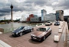 Audi A7 Sportback 3.0 TDI 313, BMW 640d GranCoupé, Mercedes CLS 350 CDI en Porsche Panamera Diesel : Grote sier