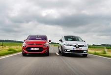 Citroën C4 Picasso 1.6 e-HDi vs Renault Scénic 1.5 dCi : Over normen en vormen