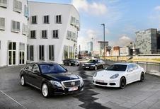BMW 730d, Jaguar XJ 3.0 TD, Mercedes S 350 BlueTEC et Porsche Panamera Diesel : Au sommet de son art