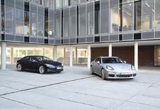 Porsche Panamera S E-Hybrid vs Tesla Model S P85 : Groen geweld