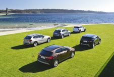 Audi Q3 2.0 TDI, BMW X1 18d sDrive, Mercedes GLA 200 CDI, Range Rover Evoque ED4 et Mini Countryman SD : Les BCBG