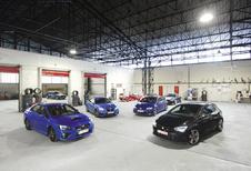 BMW M235i, Seat León Cupra, SubaruWRX STI et Volkswagen Golf R : Dilemme d'architectes