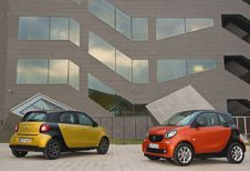 Smart Fortwo et Forfour, quand il y en a pour 2, il y en a pour 4