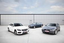 Audi A4 2.0 TDI 150, BMW 320d et Mercedes C 220 BlueTEC : Break, mon beau break
