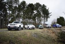 Fiat 500X, Jeep Renegade, Kia Soul, Mini Countryman et Nissan Juke : Western ou spaghetti?