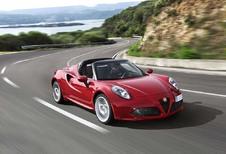 Alfa Romeo 4C Spider : tonitruante