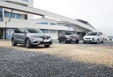 Hyundai Santa Fe, Opel Zafira Tourer en Renault Espace : De lakmoes