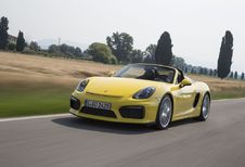 Porsche Boxster Spyder : travail manuel