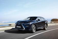 Lexus RX 200t & 450h: Ter plaatse blijven staan om de voorsprong te beheren