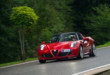 Alfa 4C Spider: ébouriffante!