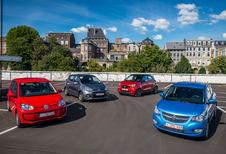 De Opel Karl en de Smart Forfour tegen hun rivalen