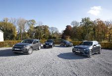Mercedes GLC tegen BMW X3, Audi Q5 en Discovery Sport