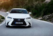 Lexus GS : Retouches maquillage et en scène!
