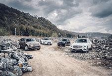 BMW X3 2.0d // LAND ROVER DISCOVERY SPORT 2.0D // LEXUS NX 300h // MERCEDES GLC 250 d : Buiten de hokjes kleuren