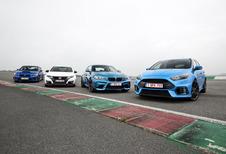 Ford Focus RS tegen 3 concurrenten