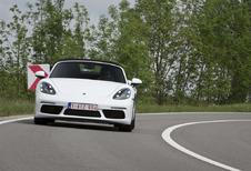 Porsche 718 Boxster : Une bonne base