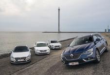 La Renault Talisman Grandtour face à 3 rivales