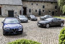 Alfa Romeo Giulia tegen 4 concurrenten