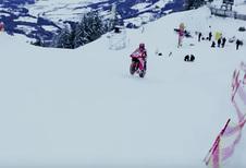 MotoGP-kampioen Marc Marquez vs de Hahnenkamm (Kitzbühel)