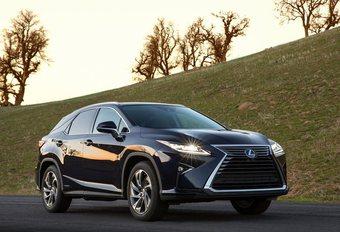 Lexus RX, toujours fidèle à l'hybride #1
