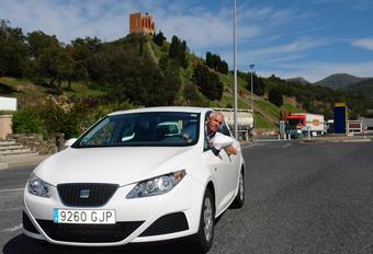 1562 km en Seat Ibiza avec un plein #1