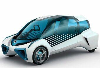Toyota FCV Plus Concept: op waterstof #1