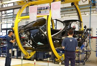 Maserati contraint à une baisse de régime dès novembre #1