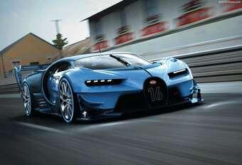 Bugatti Vision Gran Turismo : un nouveau langage #1
