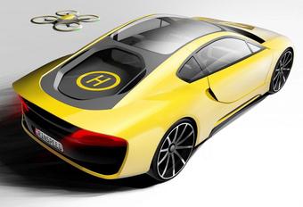 Rinspeed Σtos : porte-drone #1