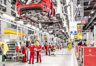 Ferrari va augmenter sa production de 30% #1