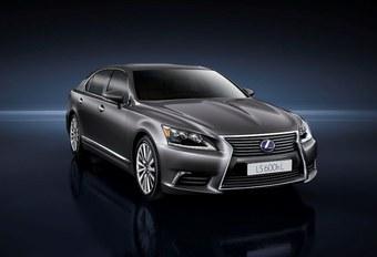 Lexus préparerait sa limousine à hydrogène #1