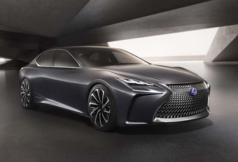 Lexus LF-FC: een toekomstige LS met brandstofcel #1