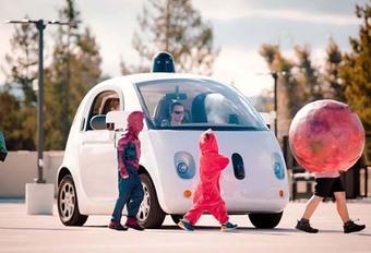 Les Google cars vont communiquer avec les piétons #1