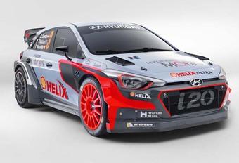 Hyundai dévoile la nouvelle i20 WRC #1