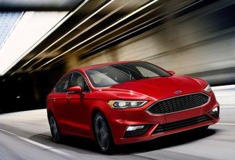 Ford Fusion : la Mondeo américaine restylée et avec un V6 Sport #1
