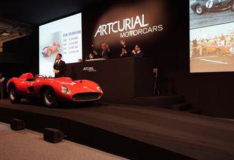 Enchères de la Ferrari 335 S Spider Scaglietti : 32 millions #1