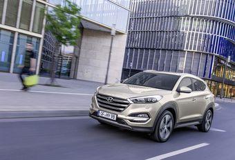 Hyundai Tucson 1.7 l Diesel plus puissant avec la boîte 7-DCT #1